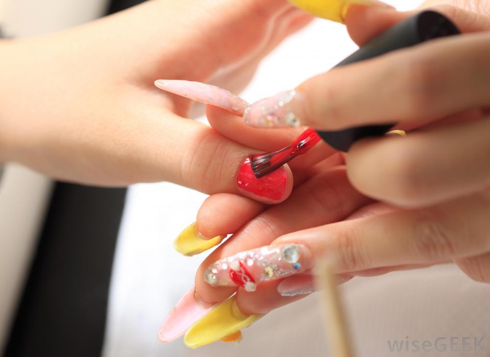 acrylic nails mold photo - 2