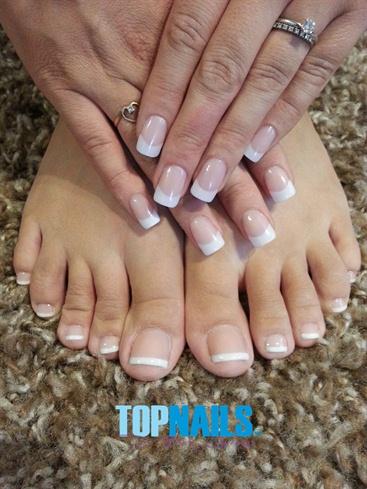 acrylic nails on feet photo - 2