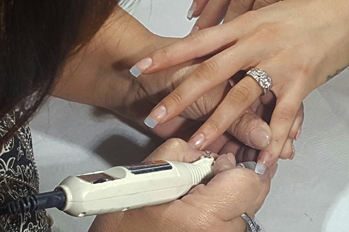 acrylic nails options photo - 1