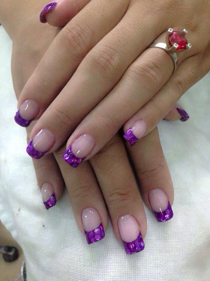 acrylic nails or sns photo - 2