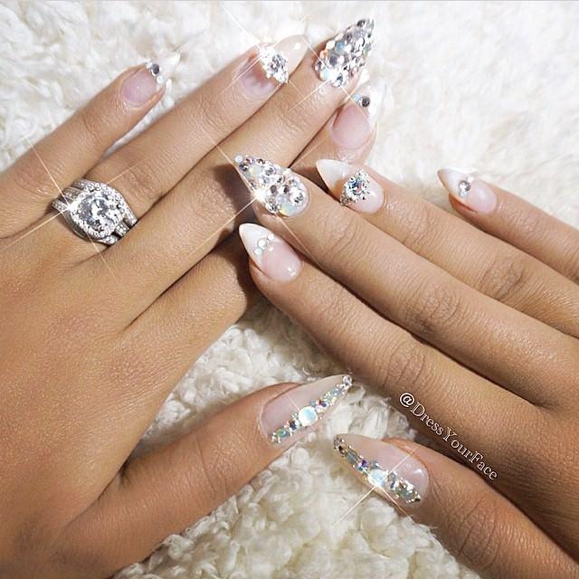 acrylic nails paint photo - 1