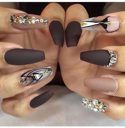 Clear Nail Polish On Acrylic Nails - Creative Touch