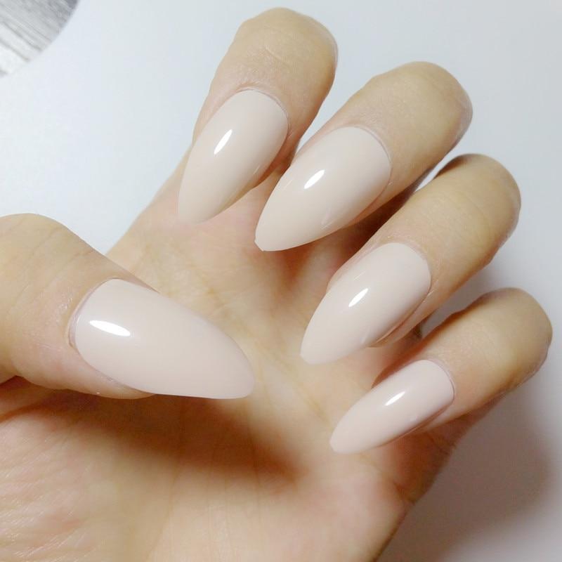 acrylic nails press on photo - 2