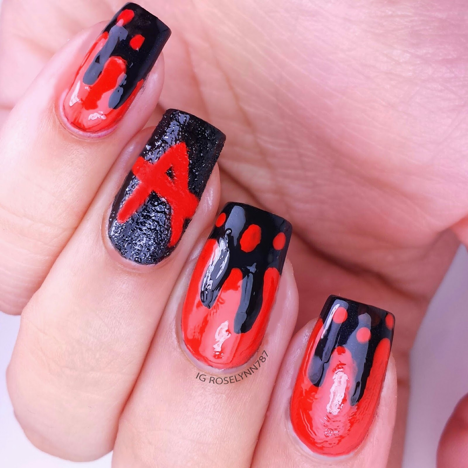 acrylic nails pretty little liars photo - 1