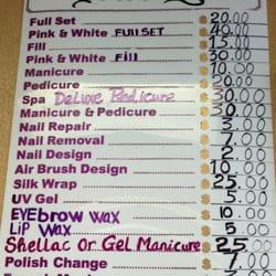 acrylic nails prices photo - 2