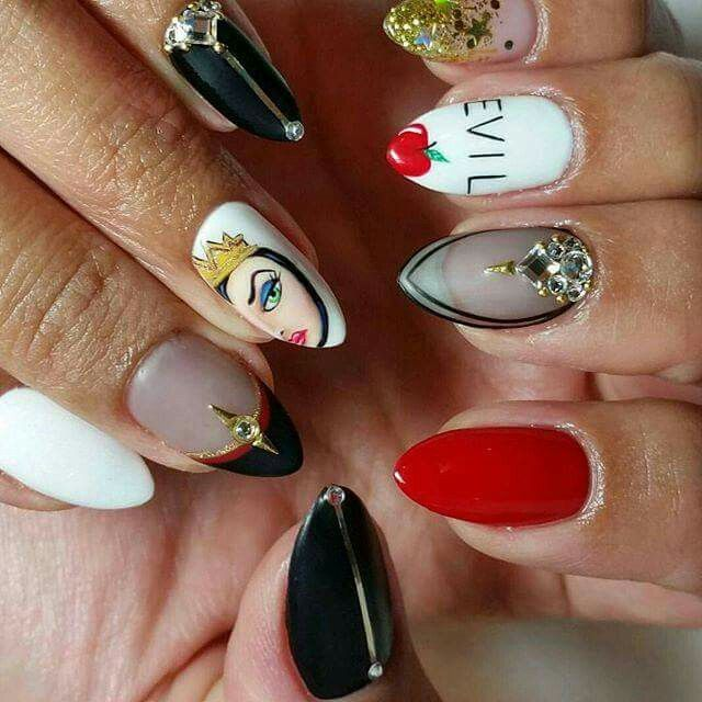 acrylic nails queens photo - 2