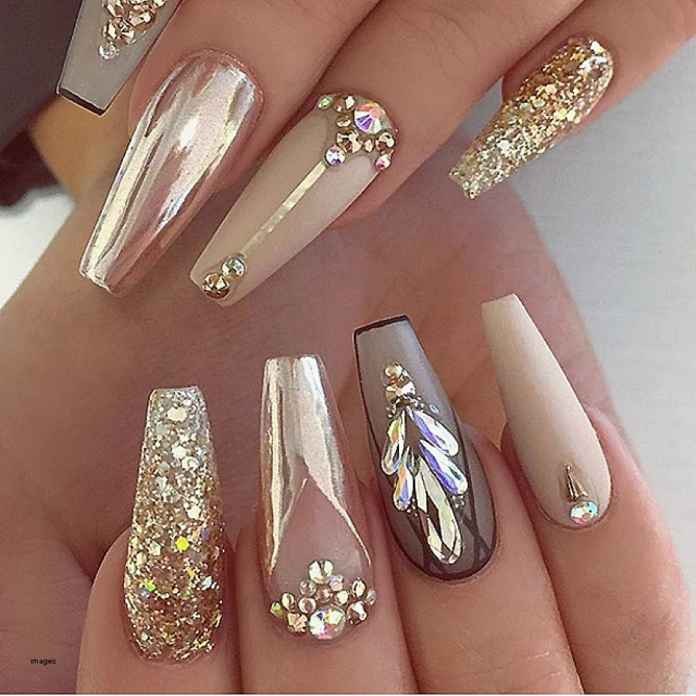 Pictures Of Acrylic Nails With Rhinestones Best Nail Imagebrain Co