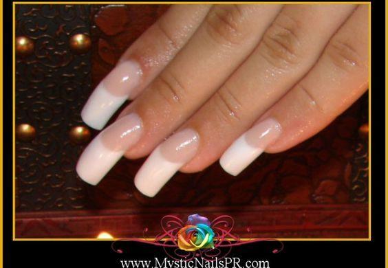 acrylic nails ridges photo - 2