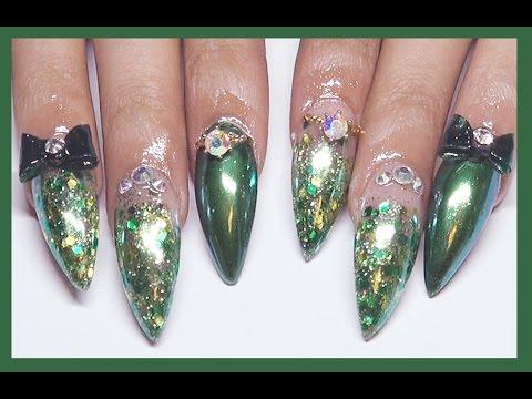 acrylic nails set photo - 2