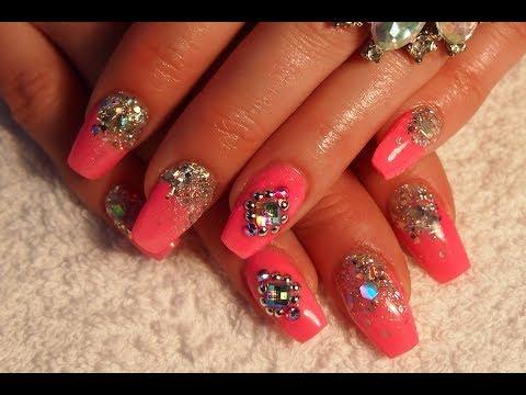 acrylic nails shape photo - 1