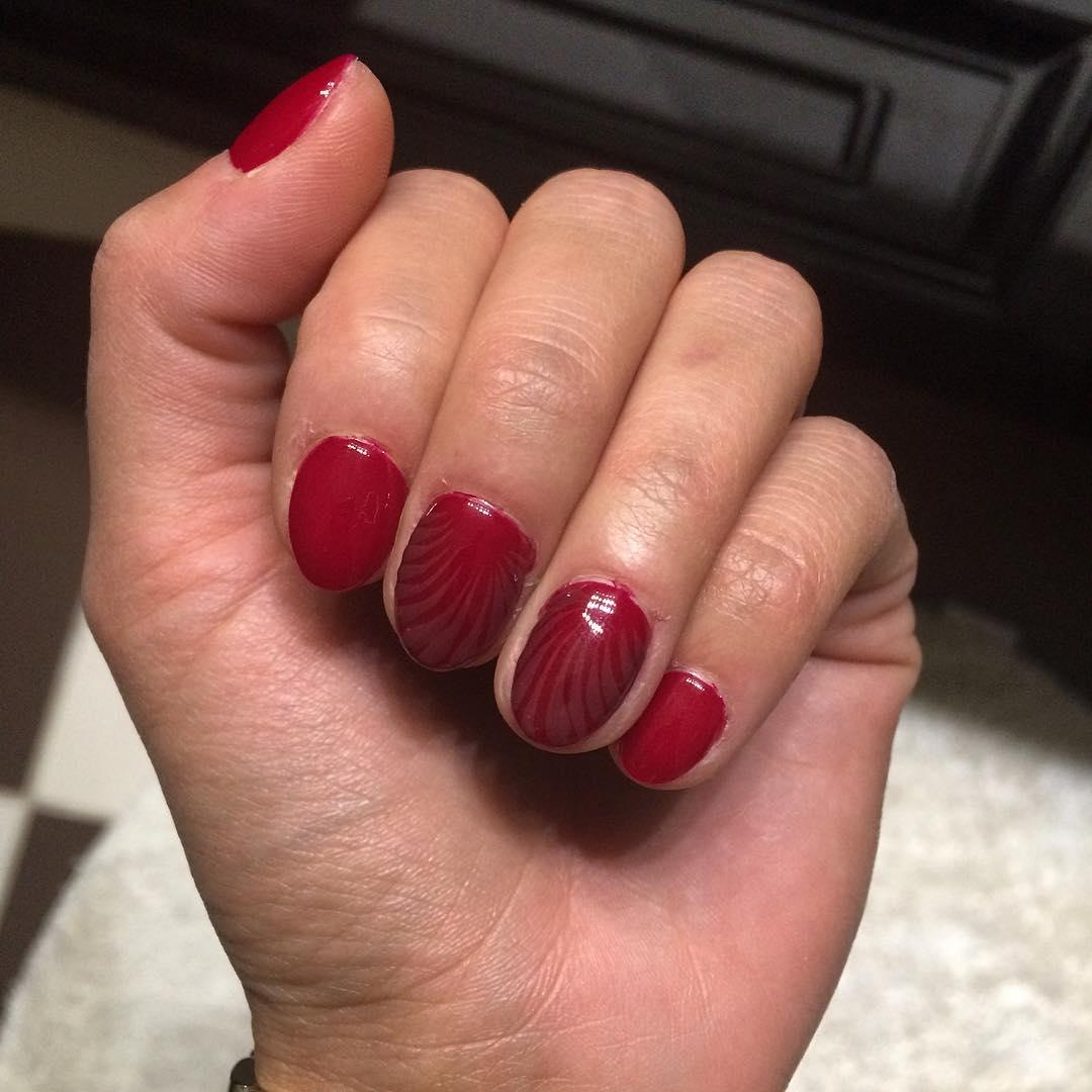 acrylic nails short nails ideas photo - 2