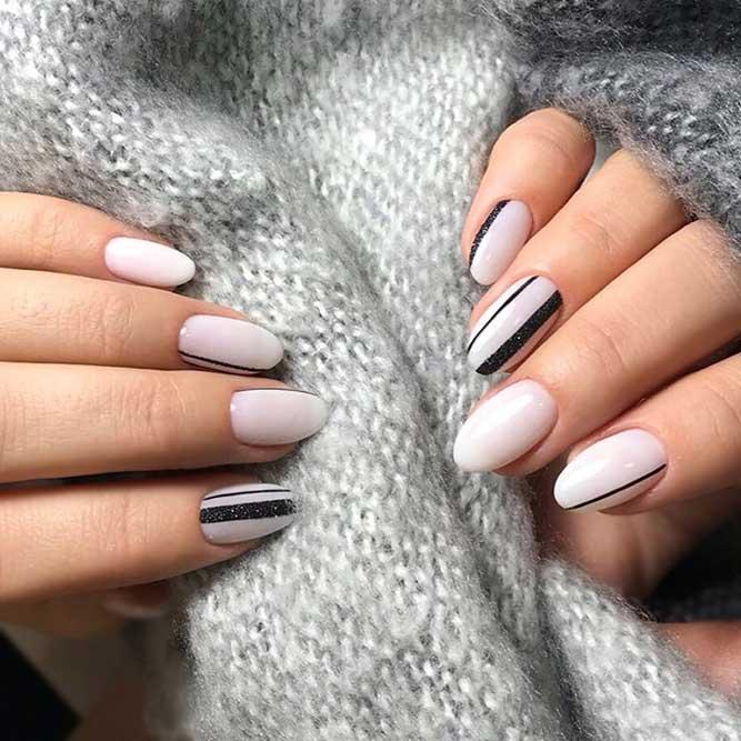 acrylic nails sparkly photo - 2