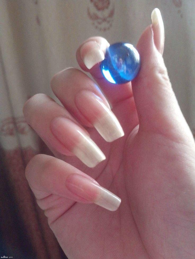 acrylic nails square long photo - 2