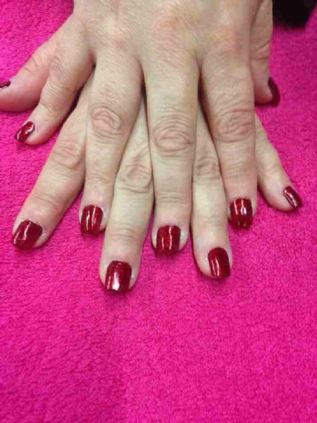acrylic nails swindon photo - 2