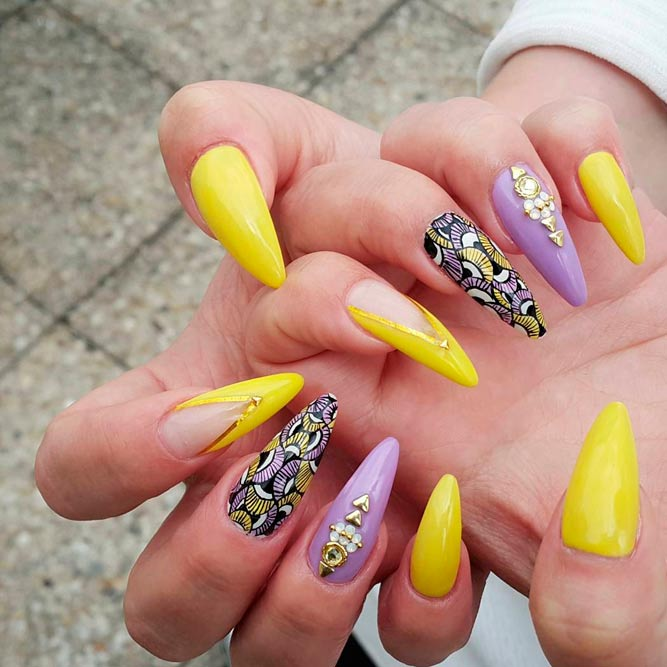 Acrylic nails that look real - Expression Nails