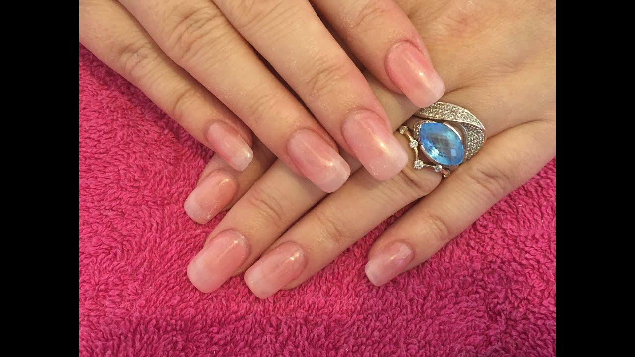 acrylic nails to look natural photo - 2