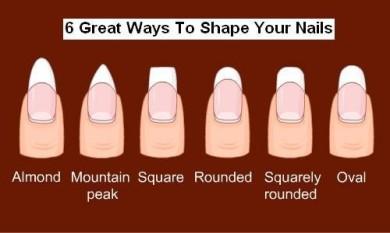 acrylic nails types photo - 1