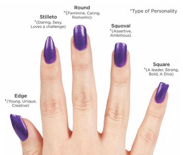 acrylic nails types photo - 2
