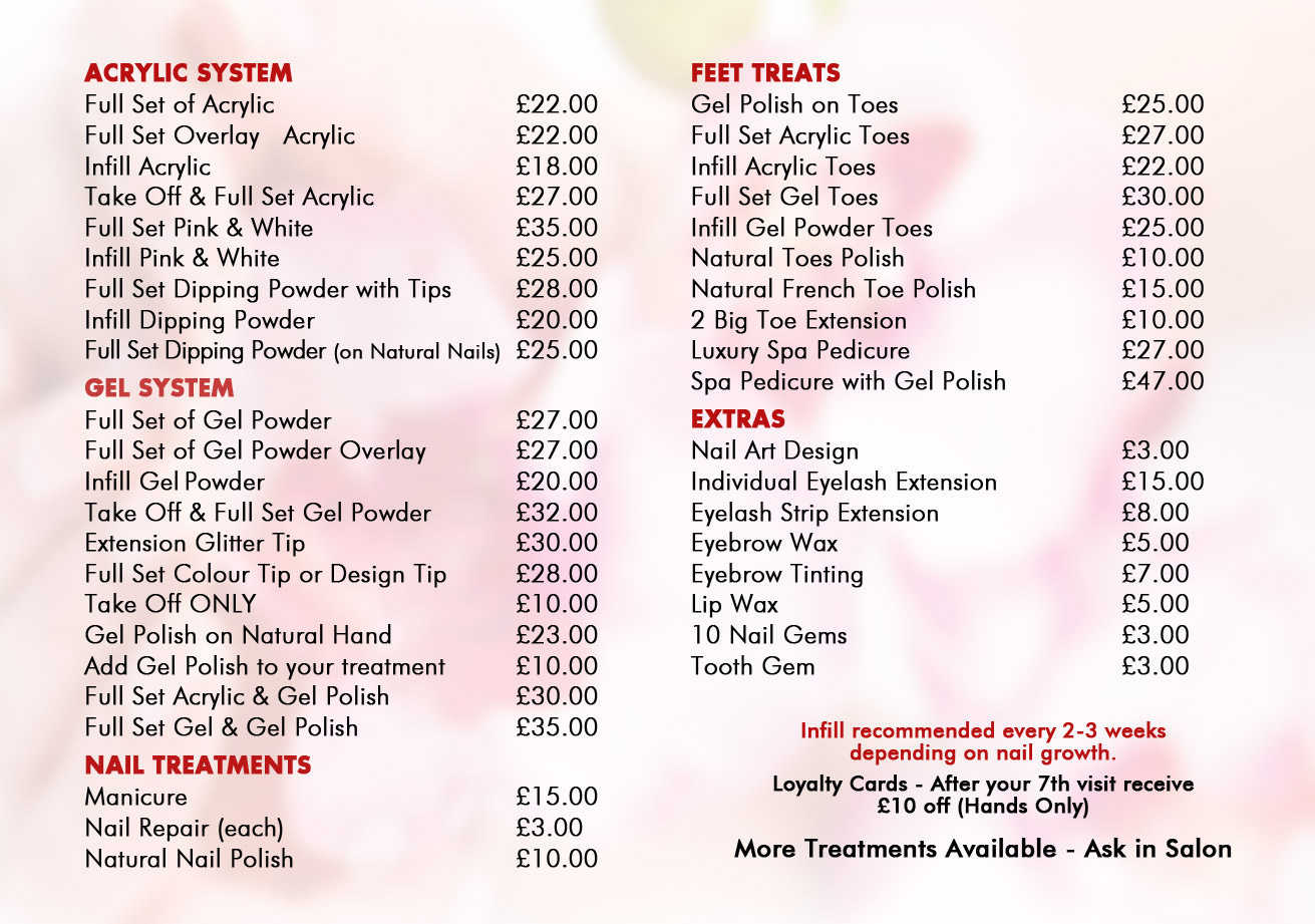 Acrylic nails uk prices , New Expression Nails