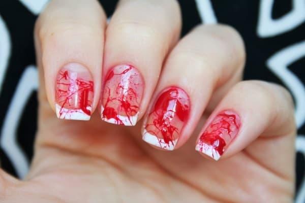 acrylic nails valentines photo - 2