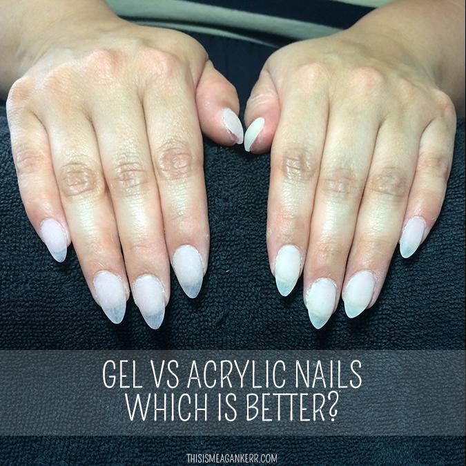 acrylic nails vs gel manicure photo - 1