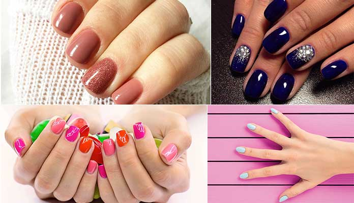 acrylic nails vs gel powder photo - 1