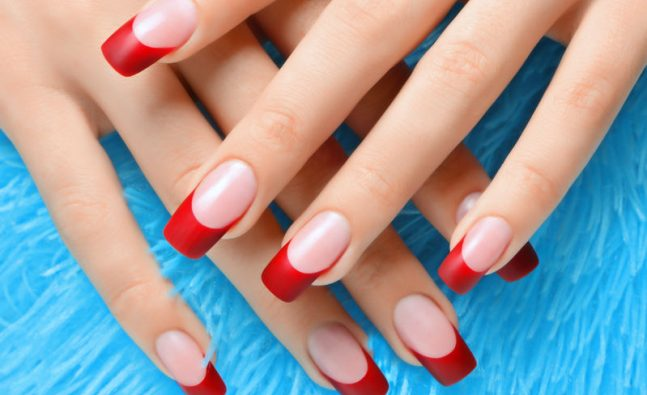 acrylic nails vs polygel photo - 1