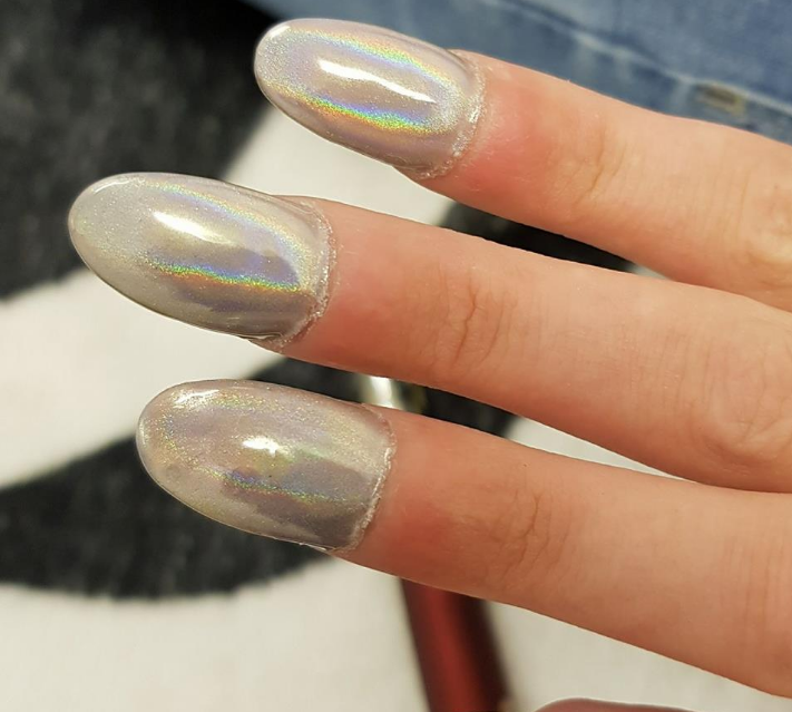 acrylic nails when to get a new set photo - 2