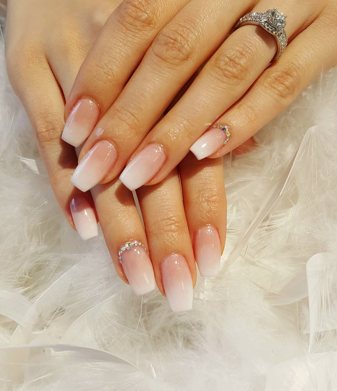 Acrylic Nails With Design Expression Nails