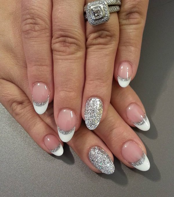 acrylic nails with fingers photo - 2
