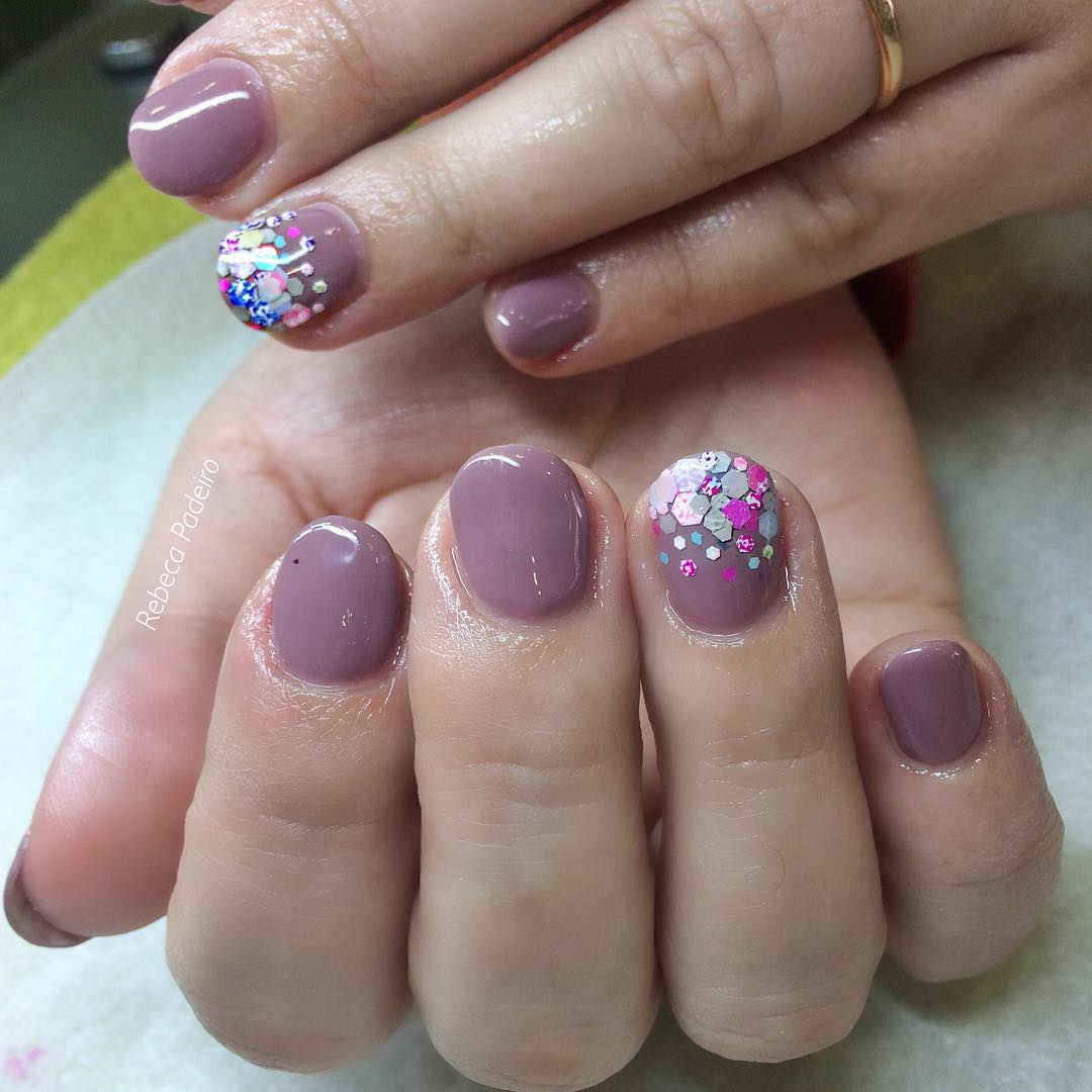 Acrylic nails with gel - Expression Nails