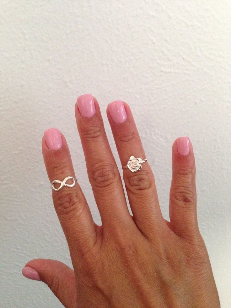 acrylic nails with gel overlay photo - 2
