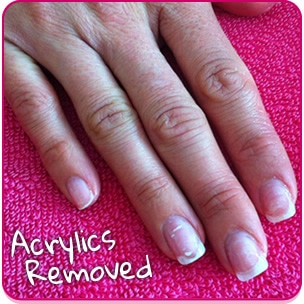 acrylic nails without drilling photo - 2