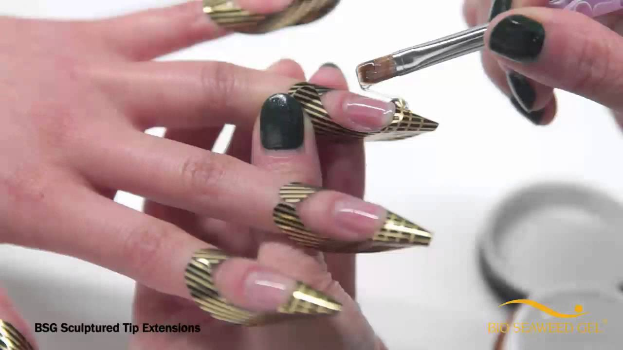 acrylic nails without extensions photo - 1