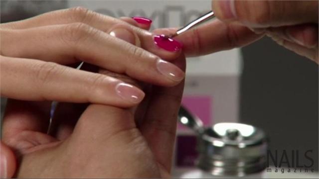acrylic nails without gel photo - 1