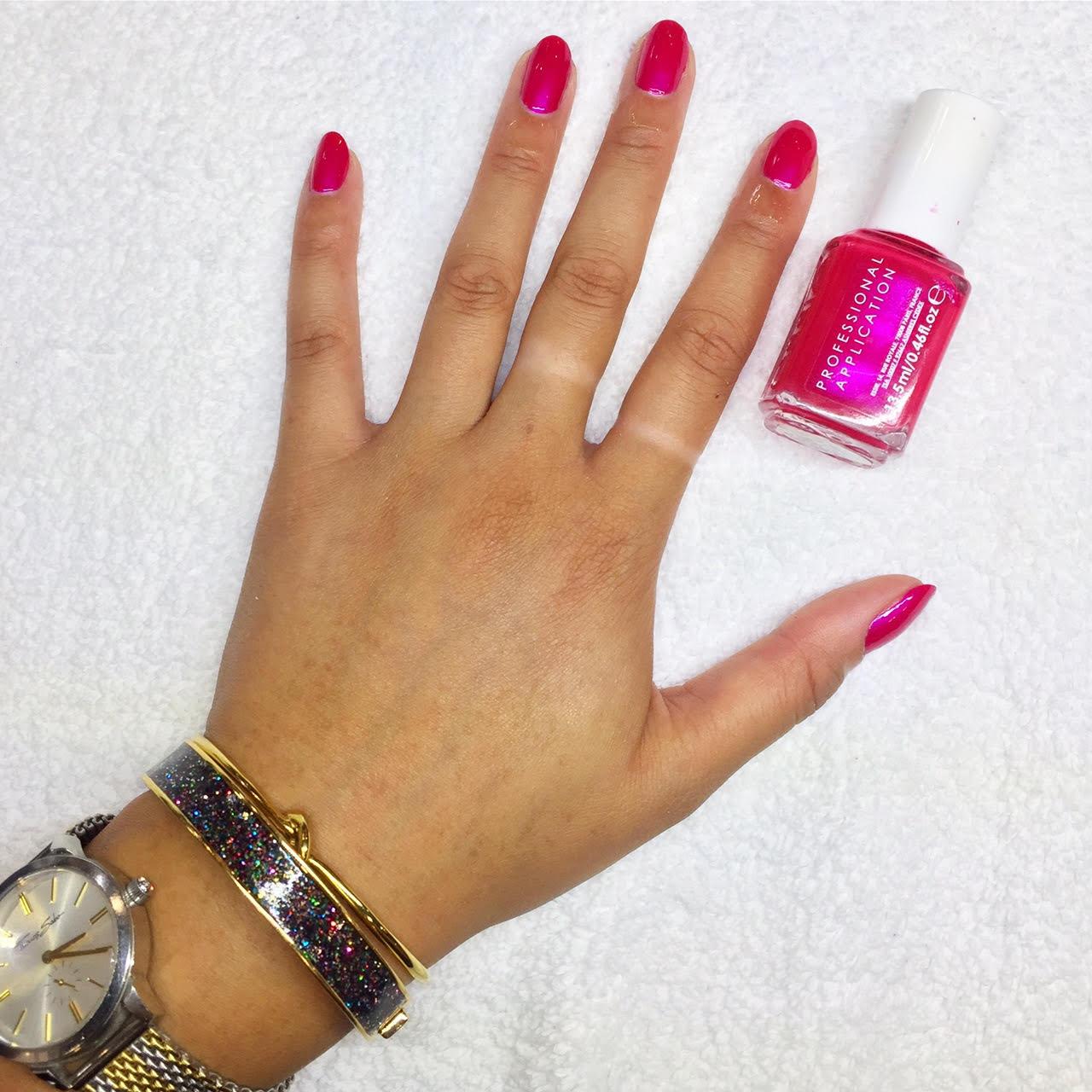 acrylic nails york city centre photo - 2