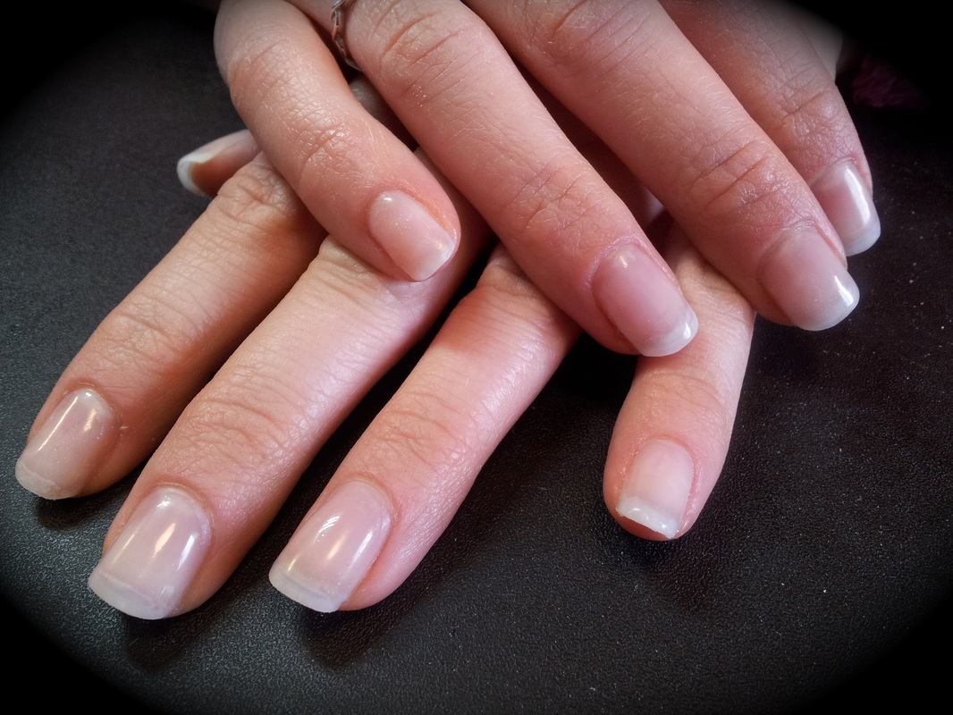 acrylic over natural nails photo - 1