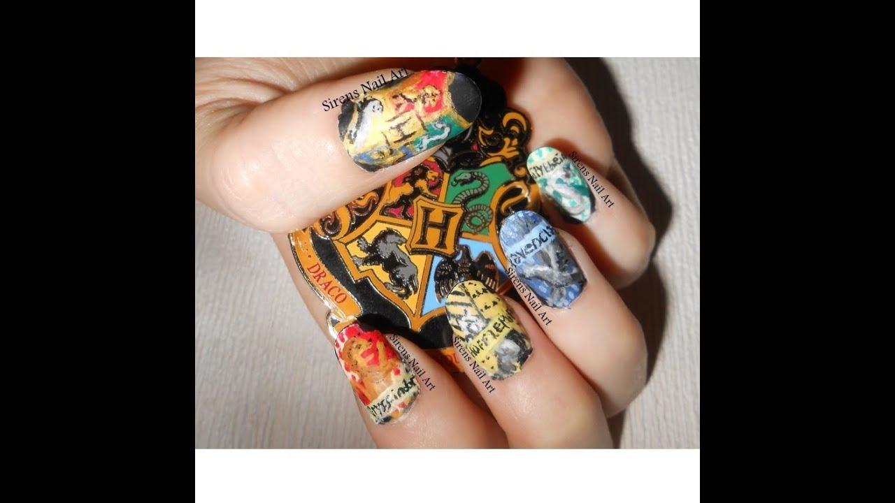 acrylic painting on nails photo - 1