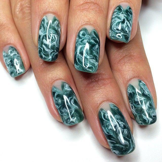 all types of gel nails photo - 2