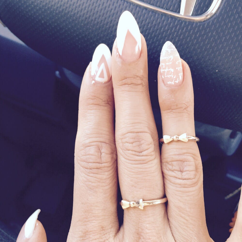 Almond Shaped Gel Nails Photo