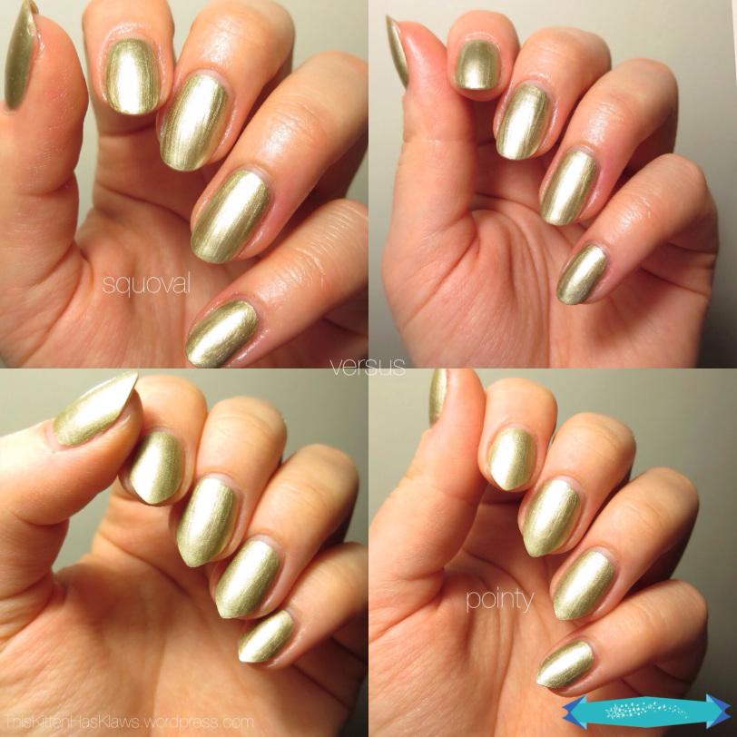almond vs coffin nails photo - 1