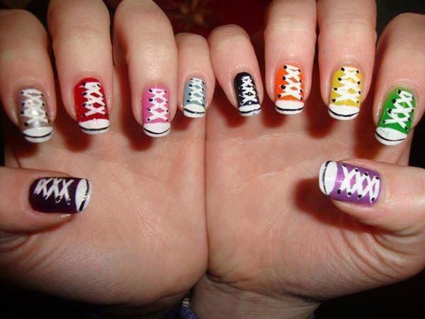 are acrylic nails fake photo - 2