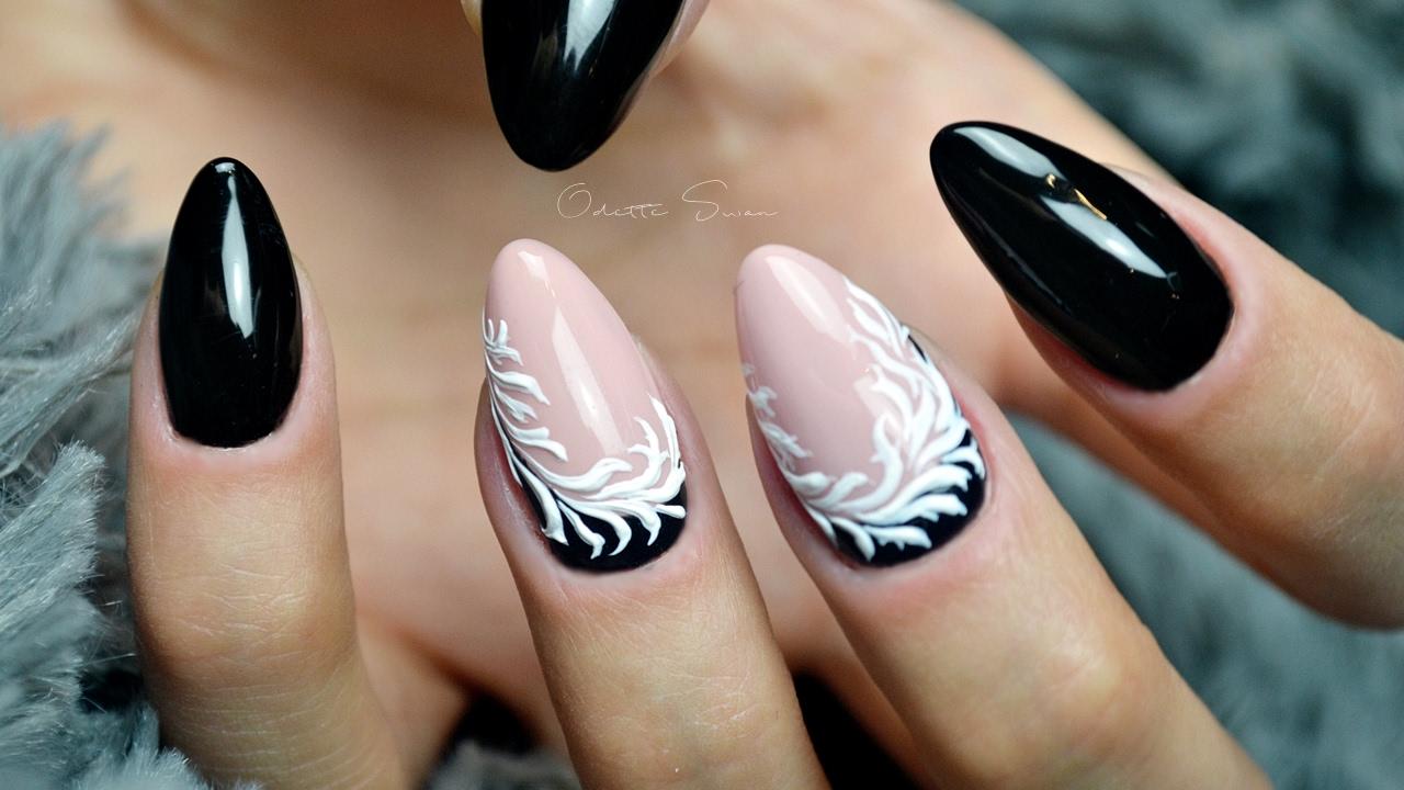 art pasta gel nails photo - 1