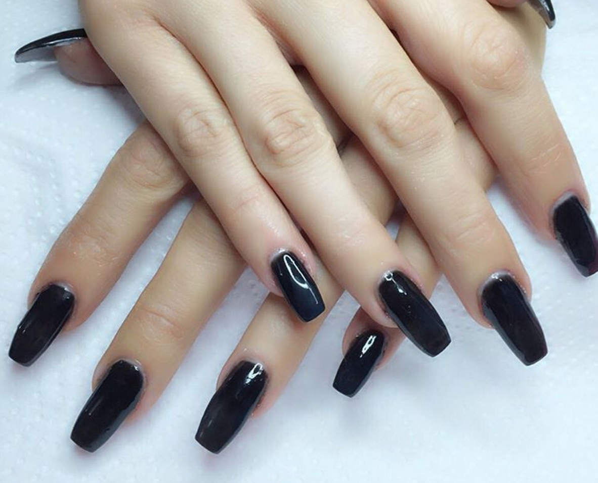 ballerina and coffin nails photo - 2
