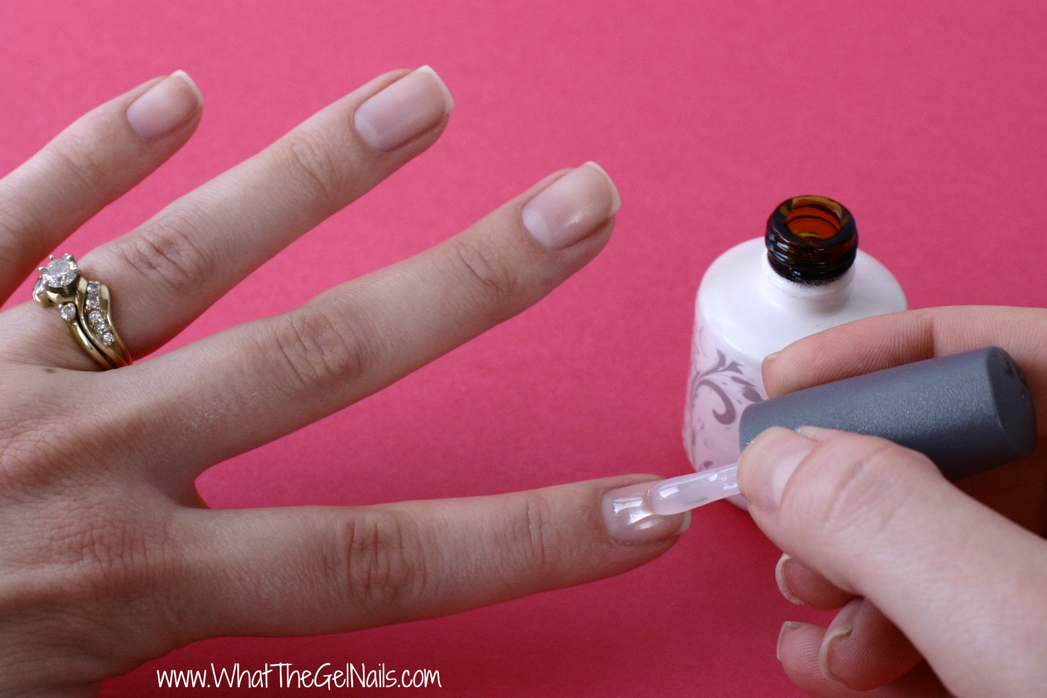 base gel nails photo - 1
