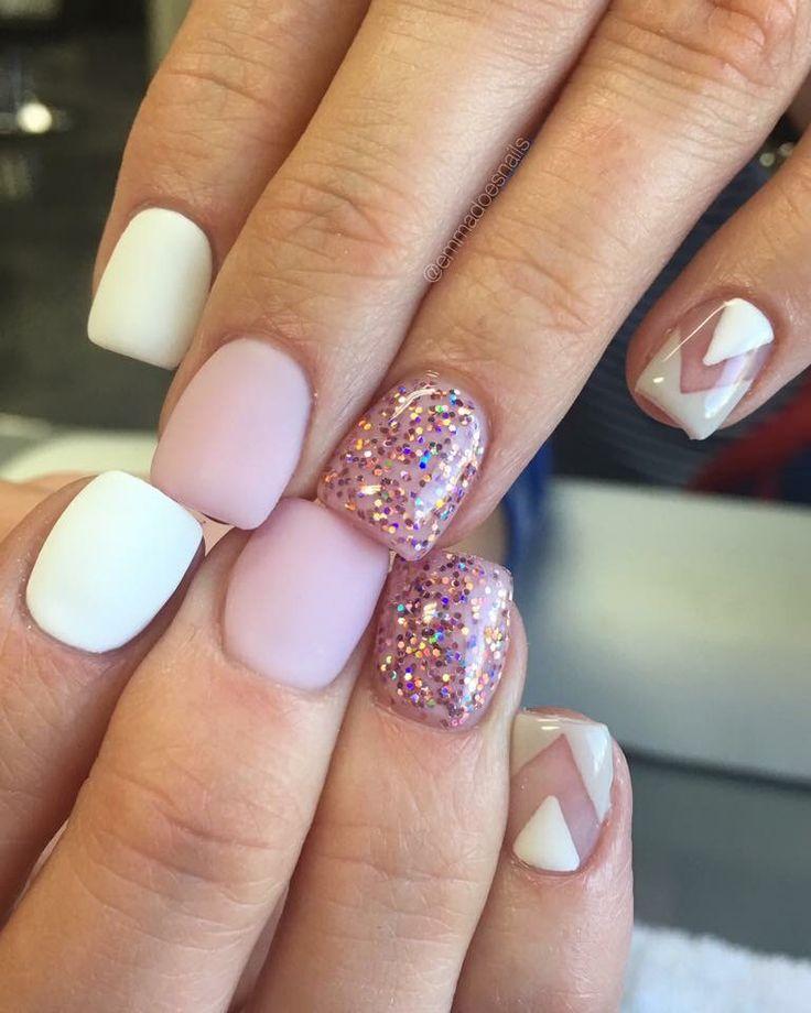 best short gel nails photo - 1