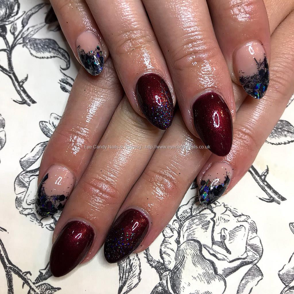 Black Glitter Gel Nails New Expression Nails