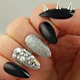 black stiletto nails walmart photo - 2