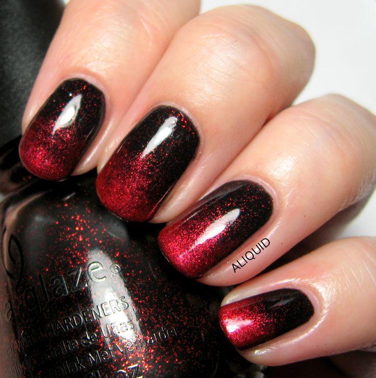 black women fall acrylic nails photo - 2