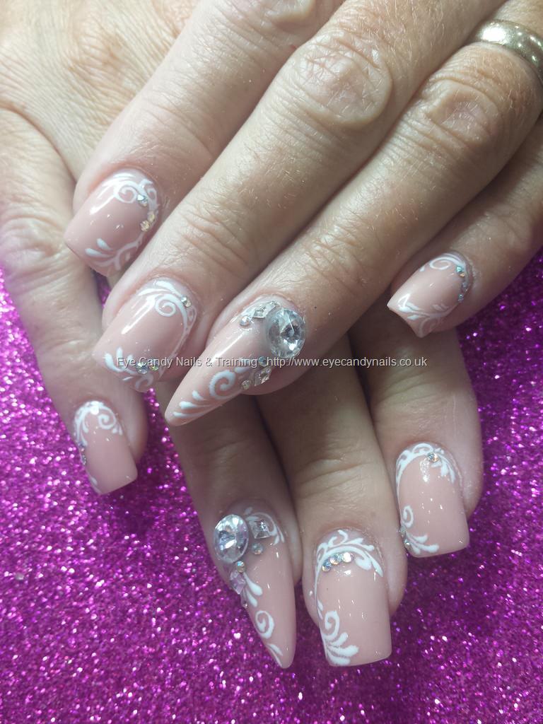 blush acrylic nails photo - 1